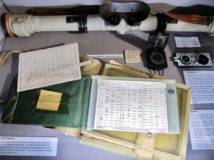 Communications and Coding display, Cornwalls Regimental Museum, WW2, Bodmin Keep,