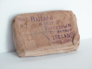 Wrapped Tin, posted home, Soldiers gift tin, WW1, Boer war