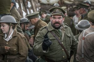 Rory Wilton, Trench, WW1, Immersive Theatre, Bodmin Keep