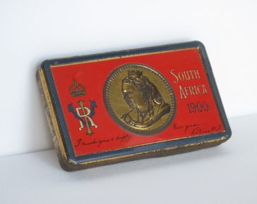 Queen Victoria, Boer War Tin, South Africa, Boer War, New Year Tin, Gift from the Queen
