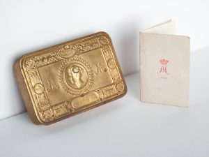 Princess Mary Gift Fund Tin, Christmas 1914, WW1, The Great War,