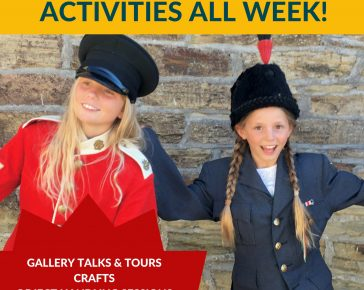 Free Half Term Week at Cornwall's regimental Museum at Bodmin Keep.