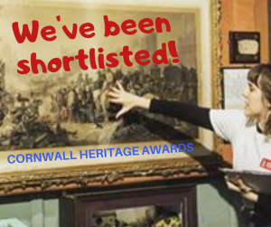 We have been shortlisted in Audience Initiative, Innovation Award and Heritage Heroes.