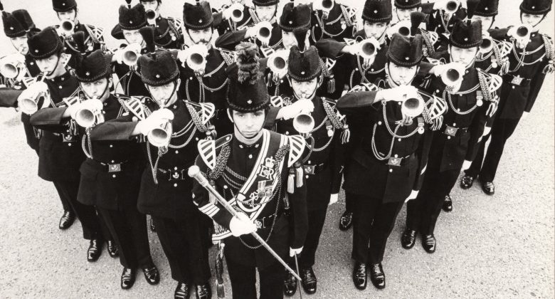 Light Infantry Buglers 1979, Bodmin Keep, Cornwall's Regimental Museum