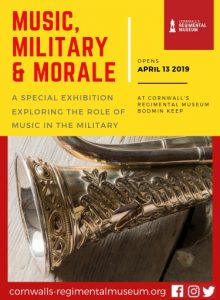 Music Military and Morale Exhibition, poster, Bodmin Keep
