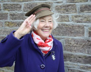 Freda Ely, Volunteer Profile, Cornwall's Regimental Museum, Bodmin Keep, Bodmin Memories, Post WW2