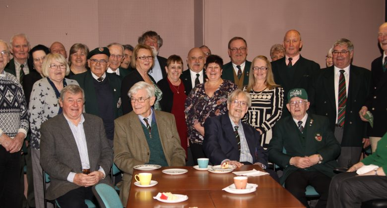 Patrick Linehan 100 years Birthday party at Bodmin Keep. WW2 Veteran, POW, DCLI