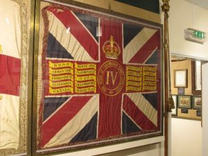 : Queen's Colour of 4th Battalion the Duke of Cornwall's Light Infantry
