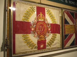 Regimental Colour of 4th Battalion the Duke of Cornwall's Light Infantry