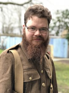 Chris Berriman, Intern, Cornwall's regimental Museum, Bodmin Keep