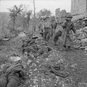 D Day Dodger, Monti Cassino, Bodmin Keep, Italy, WW2, Word War Two