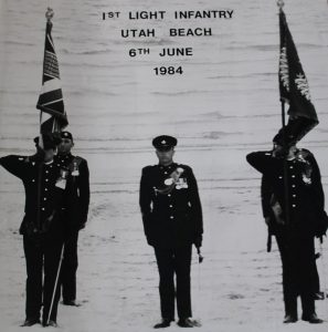 Light Infantry, Utah Beach, D Day, Remembrance, Bodmin Keep