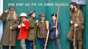 OPEN Every day in the school holidays!, Bodmin Keep, Cornwalls's Regimental Museum, School Holidays