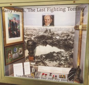 Harry Patch, The last Fighting Tommy DCLI, WW1, Bodmin Keep, Cornwall's Regimental Museum, WW2,
