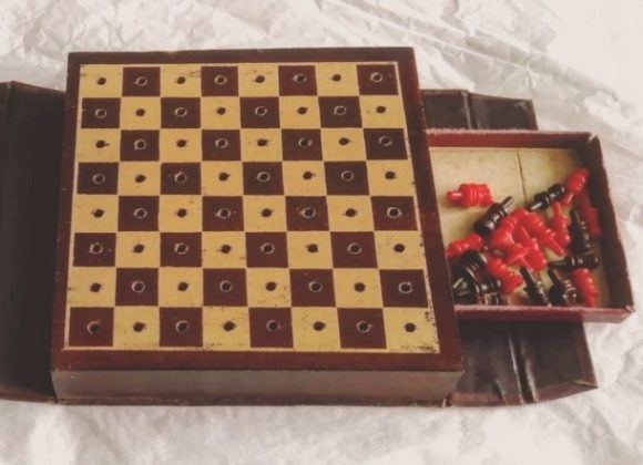 Chess Set_ WW2, WWII, PoW, Patrick_Linehan, DCLI, Bodmin Keep