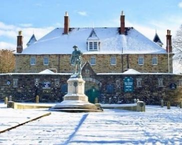 Bodmin Keep in the Snow