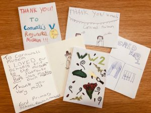 Thank you cards from St Nicolas School