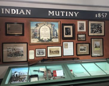Indian Mutiny Display at Bodmin Keep