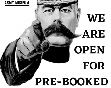 Open for pre-booked visits