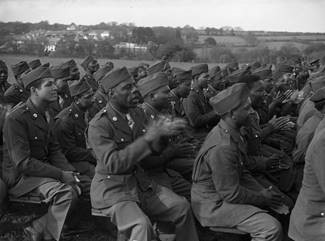 black soldiers, segregated at Bodmin Keep
