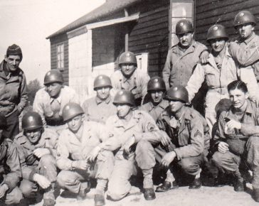 US Soldiers in Bodmin, Walker Lines Camp WWII